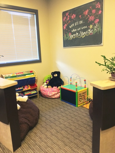 Chiropractic Burien WA Children's Play Area