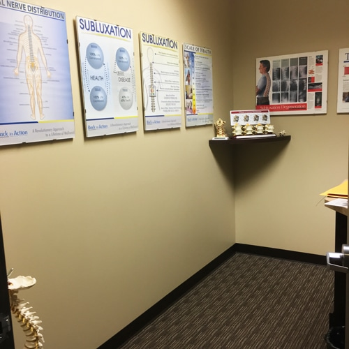 Chiropractic Burien WA Consultation Room
