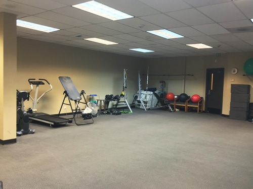 Chiropractic Burien WA Exercise and Rehabilitation Area