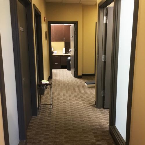 Chiropractic Burien WA Office Hallway