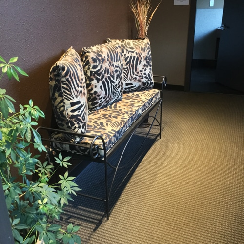 Chiropractic Burien WA Waiting Bench