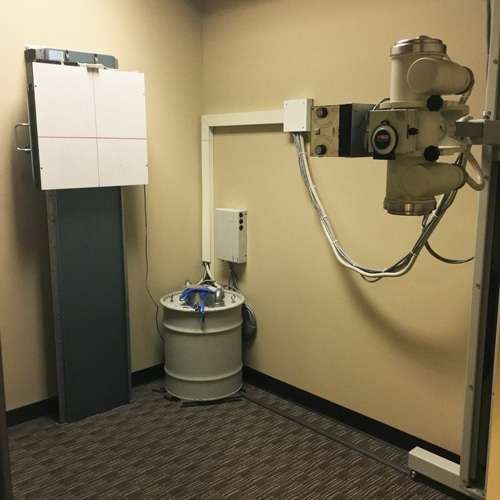 Chiropractic Burien WA X-Ray Room